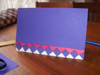Osage ribbon card