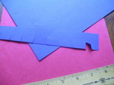 notch paper ribbons