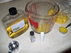 beeswax lip balm ingredients