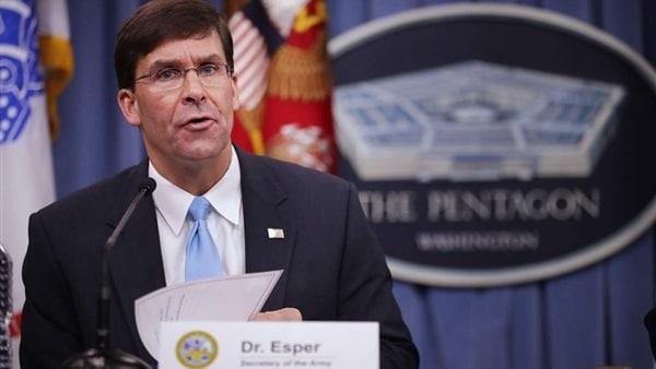 """وزير الدفاع الأمريكي """"مارك إسبر"""""""