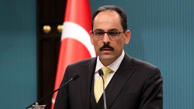 """المتحدث باسم الرئاسة التركية """"إبراهيم كالن"""""""