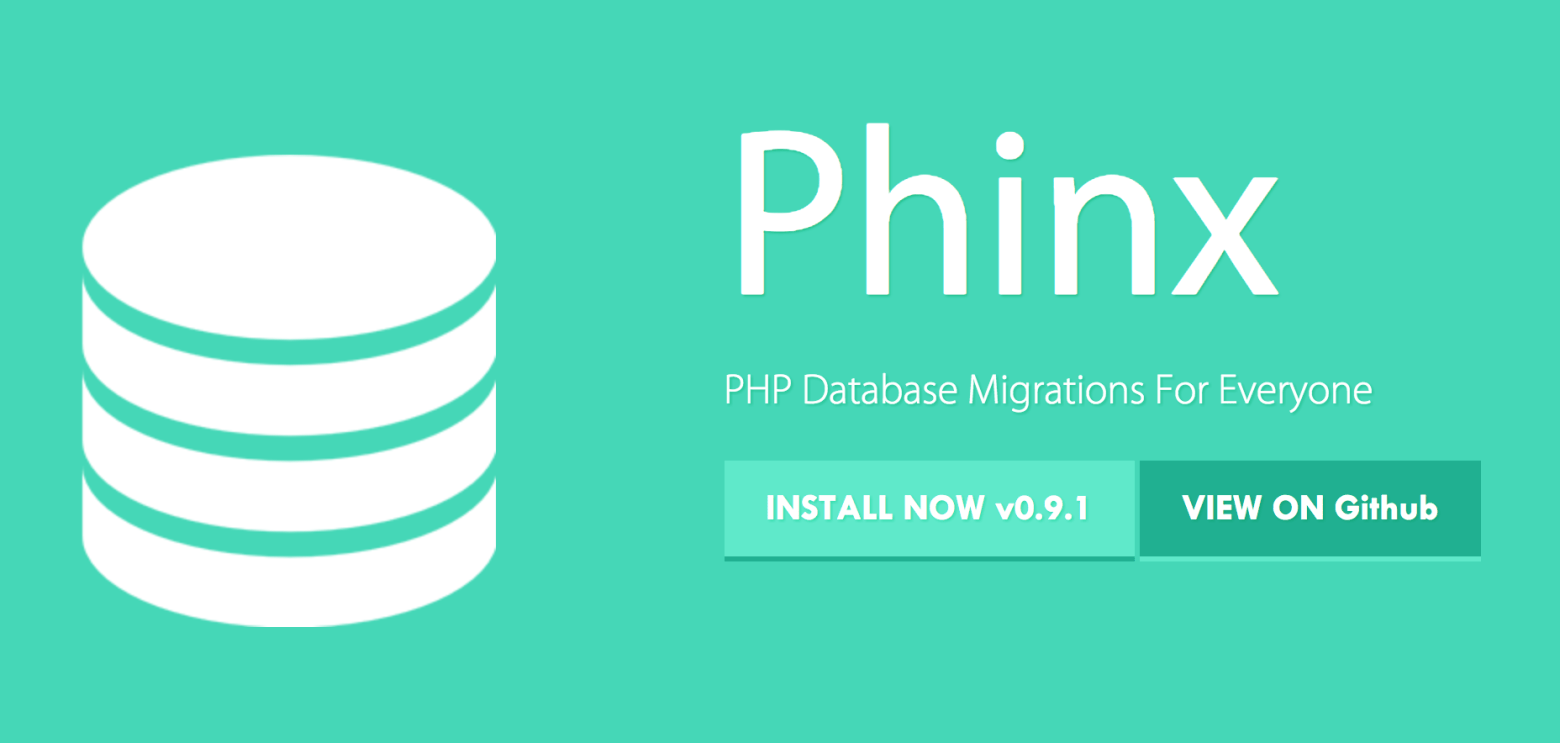 Schema Migration (DB migration) using Phinx