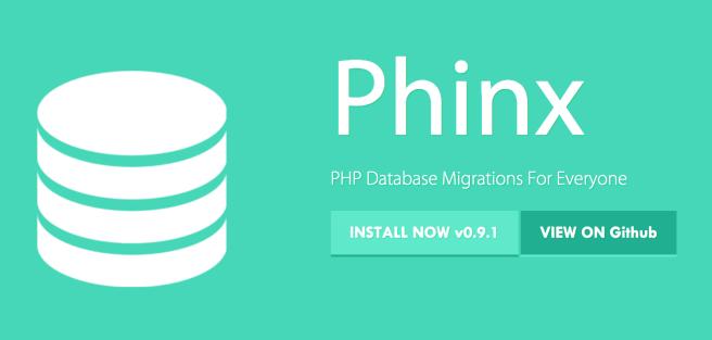 Phinx - Schema Migration Tools
