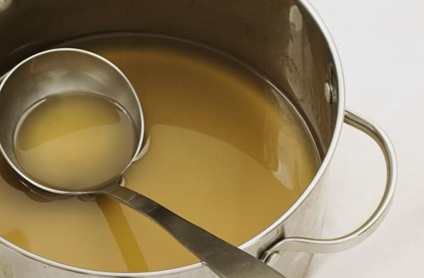 What is Stock in Cooking - White Stock (Fond Blanc)
