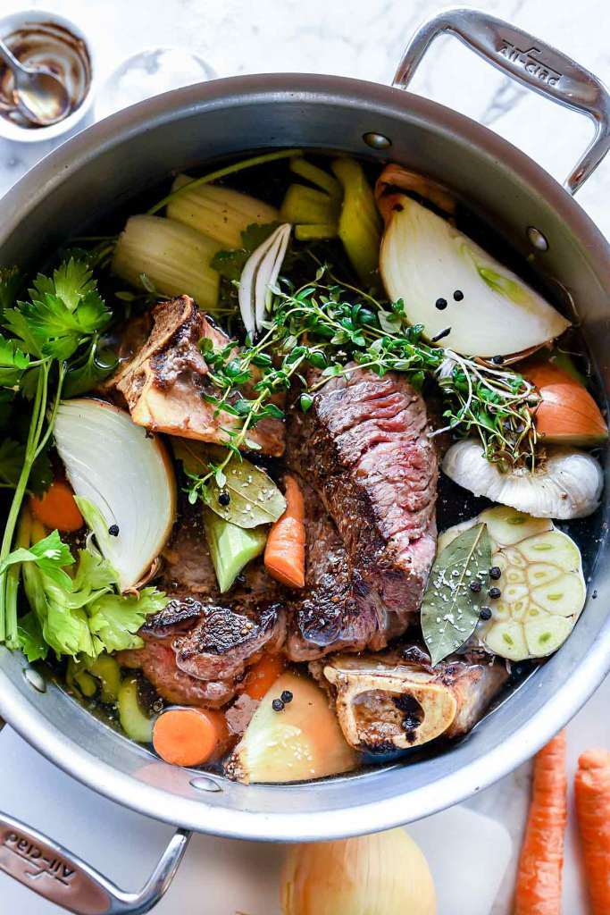 What is Stock in Cooking - Veal Stock (Brown Stock)