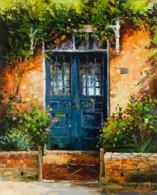 blue-door-in-north-london-gleb-goloubetski