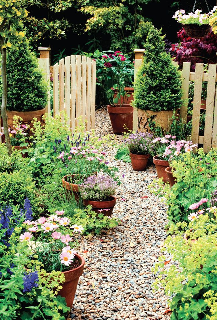 Pretty Organizing Ideas For Spring Gardening - Hadley Court on Cottage Patio Ideas id=32931