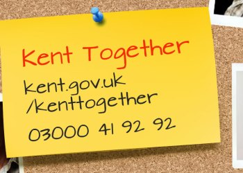 Kent Together 24 hour helpline notice