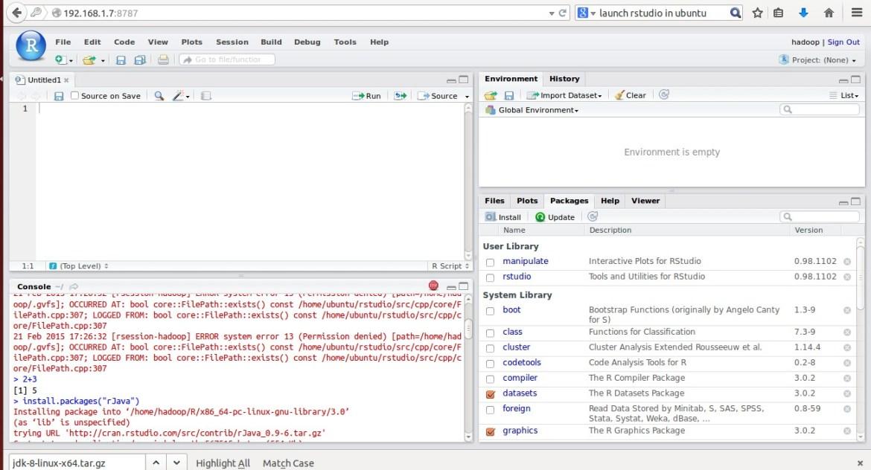 Install rstudio ubuntu 14 04 | Peatix