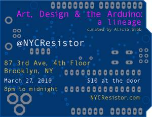 Art, Design & the Arduino: a lineage