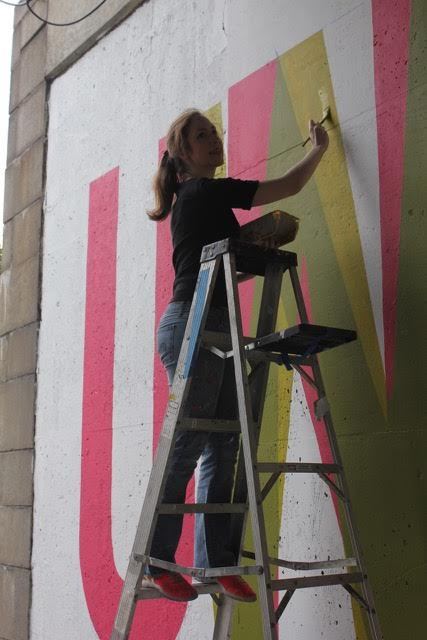 Meggs painting
