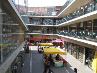 A large crafts market
