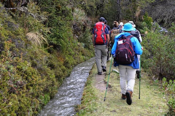 A lovely hike on flat terrain