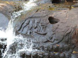Vishnu, Lakshmi und Brahma