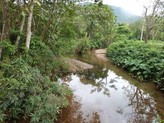 Flußidylle zwischen den Tempelbezirken