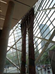 Letzte Stahlträger der Twin Towers