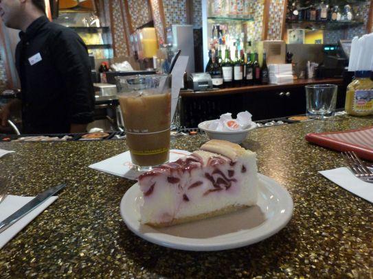 New York Cheesecake with Rasberries