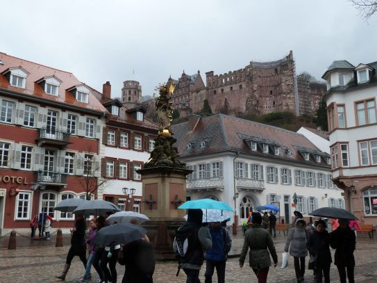 Heidelberg im Regen
