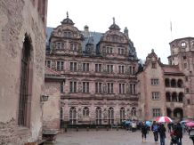 Im Innern des Schlosses: der Friedrichsbau aus dem frühen 17. Jh.