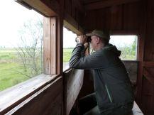 Und dann ging es auf Vogelschau im Nationalpark Seewinkel