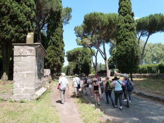 An der Via Appia beim Museo Canina