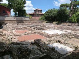 Thermenanlage der Villa bei Capo di Bove