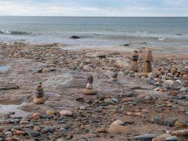 Am Strand von Whitley Bay