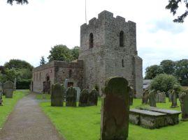 Die Kirche von Burgh by Sands - hier war ursprünglich Edward I. begraben