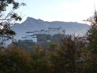 Blick auf die Festung vom gegenüber gelegenen Kappuzinerberg
