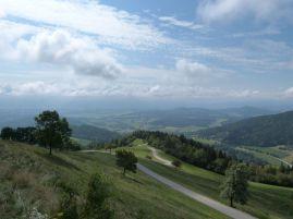 Rundumblick von der Spitze des Magdalensberg