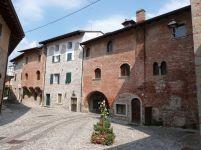 Mittelalterliche Häuschen in Cividale