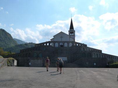 Italienisches Beinhaus unter der Kirche St. Anton bei Kobarid