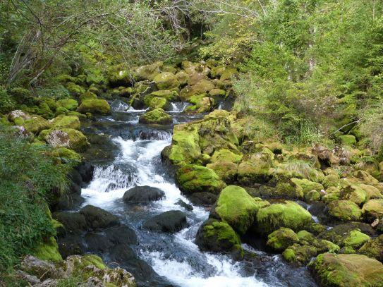 Wie im Feenland: die Boka-Quelle bei Bovec