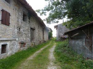 Leider sind nicht mehr alle der schönen Häuser in Robidisce bewohnt