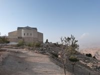 Die Moseskirche auf dem Berg Nebo