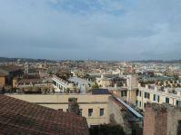 Blick über Rom von den Scuderie del Quirinale