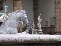 Neptunbrunnen und Loggia dei Lanzi