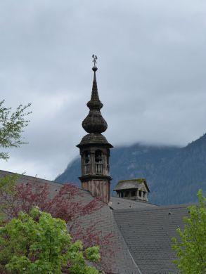 Spitze der Salzbergwerks-Verwaltung im Tal