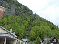 Und hier geht es auf den Salzberg hinauf...
