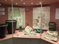 Ein reiches Grab aus der Nekropole auf dem Salzberg im Museum in Hallstatt
