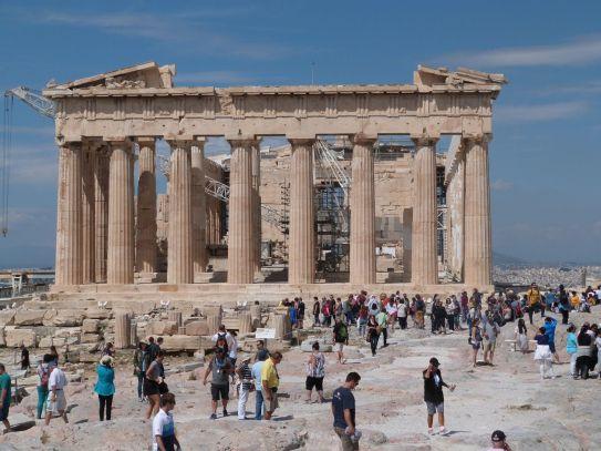 Eine ewige Baustelle, dennoch ist der Parthenon immerwieder sehenswert
