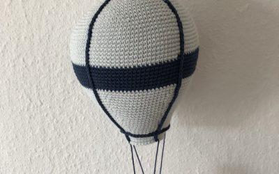 Stor hæklet luftballon – med hækleopskrift