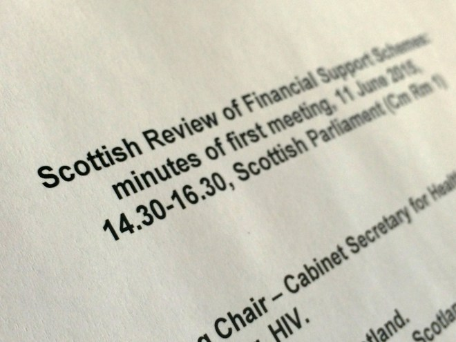 Financial Support Review Group
