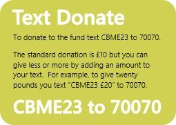 CBM Text Donate
