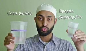 Cara Berwudhu Dengan Menggunakan Air Yang Sedikit