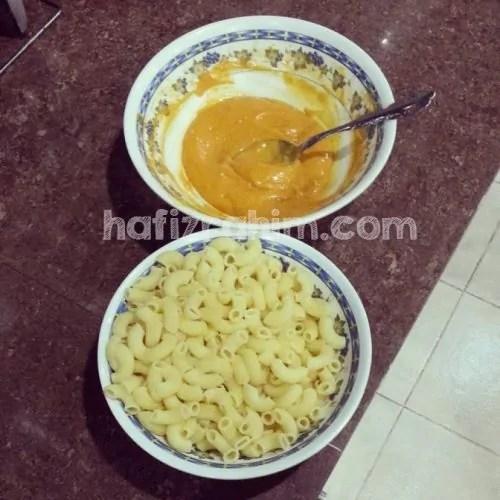 cara buat macaroni cheese_3