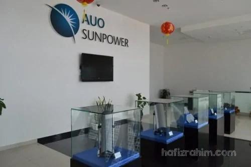 AUO sunpower-hafiz rahim