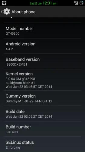Custom rom Android KitKat 4.4.2-Gummy Rom