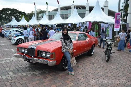 Danga Bay_Creative Fest-Model kereta-American muscle