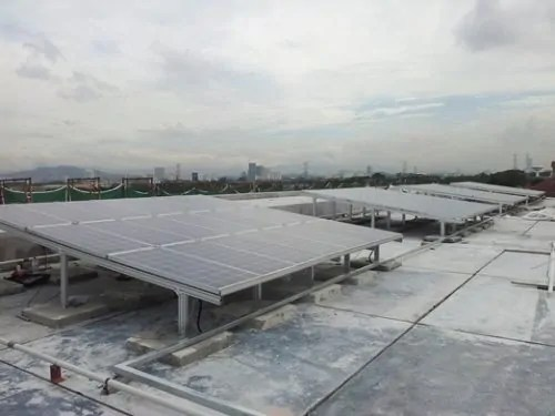 20kWp BIPV system for REHDA Office Building